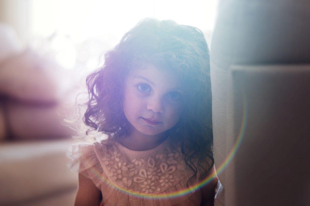 Foster child with a bright future.